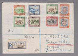 Ozeanien Niue 1959-11-20 R-Brief Nach Triberg DE - Niue