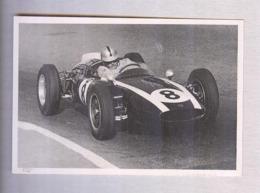 BRABHAM SU COOPER...PILOTA....AUTO..CAR....VOITURE....CORSE...FORMULA 1 UNO - Automobile - F1