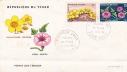 Tchad FDC 1969 Fleurs - Chad (1960-...)