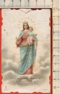 """Antico Santino Lega Eucaristica """"Maria Auxilium Christianorum -n.9136"""" In Torino - Religión & Esoterismo"""