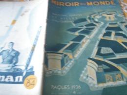 MIROIR/ ARCHITECTURE NOUVELLE /HABITATIONS /COMMERCE /INDUSTRIE /ADMINISTRATION /EGLISES - 1900 - 1949