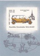 Madagascar BF MNH 1984 Voiture Ancienne - Madagaskar (1960-...)