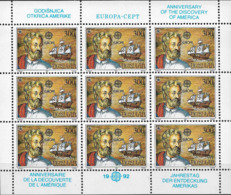 1992 Jugoslawien   Mi. 2534-5** MNH  Europa: 500. Jahrestag Der Entdeckung Von Amerika - Europa-CEPT
