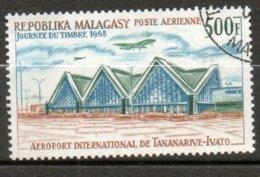 MADAGASCAR P Aérienne  Aéroport De Tananarive-Ivato 1968 N° 105 - Madagaskar (1960-...)