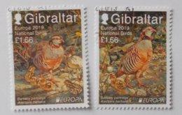 Gibraltar 2019 Cept (PF) Cancelled - 2019