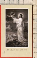 "Antico Santino Lega Eucaristica ""Pasqua 1916 Milano - N.I-9"" - Religión & Esoterismo"