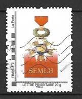 France. Société Des Membres De La Légion D'Honneur..  Envoi France 0,86 €. Europe 1,30 €. - France