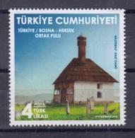 13.- TURKEY 2018  JOINT ISSUE TURKEY - BOSNIA AND HERZEGOVINA - Neufs