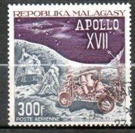 MADAGASCAR P Aérienne  Apollo XIII 1973 N° 124 - Madagaskar (1960-...)