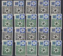 Europa Cept 1957 Netherlands 2v (10x) ** Mnh (44969) - Europa-CEPT