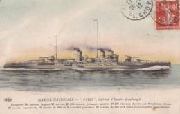 """Transports > Bateaux > Guerre Marine Nationale  """" Le Paris  """" Cuirassé D'escadre Dreadnought - Warships"""