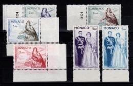 Monaco - YV PA 73 à 78 N** Complète Sainte Devote & Couple Princier Cote 130 Euros - Poste Aérienne