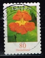Bund 2019,Michel# 3481 O Blumen: Kapuzinerkresse Selbstklebend - Gebraucht