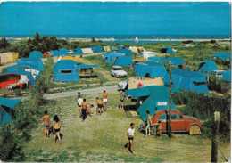 """TORREILLES - Camping """"LAS VEGAS - Voiture : Citroen DS - 2CV - Peugeot 404 - France"""