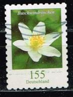 Bund 2019,Michel# 3483 O Blumen: Buschwindröschen Selbstklebend - Gebraucht