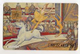 FRANCE EN98 Exposition SEURAT Le CIRQUE 50U Tirage 15000 Ex - Frankreich