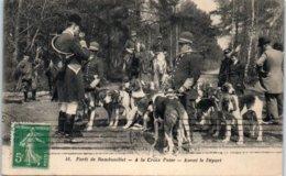 78 - RAMBOUILLET --  Forêt - Ala Croix Pater - Avant Le Départ - Rambouillet