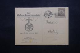 ALLEMAGNE - Carte Commerciale De Berlin En 1924 , Affranchissement Plaisant - L 44156 - Deutschland