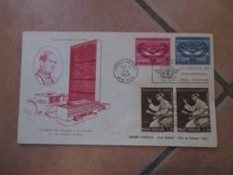 MISTA Vaticano Nazioni Unite Papa Paolo VI Pronuncia Discorso ONU Timbro PA USA + Città Del Vaticano 1965 - Cartas