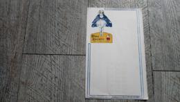 Buvard Bleu Reckitt Rend Ma Robe Blanche Usine à Choisy Le Roi Produit Ménager - Pulizia