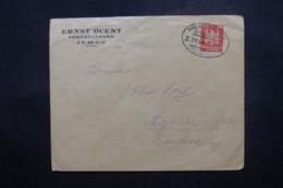 ALLEMAGNE - Enveloppe Commerciale De Lemgo En 1924 , Affranchissement Plaisant , Oblitération Ambulant - L 44158 - Deutschland