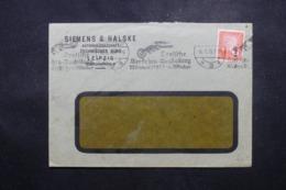 ALLEMAGNE - Enveloppe Commerciale De Leipzig En 1925 , Affranchissement Plaisant - L 44159 - Deutschland