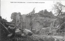 Tessy Sur Vire - A Travers Les Degats Du Cyclone    - Non Circulé - France