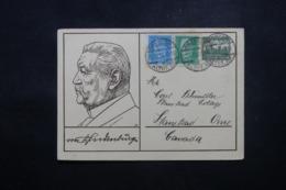 ALLEMAGNE - Entier Postal Illustré + Compléments De Dresden En 1932 Pour Le Canada - L 44160 - Ganzsachen