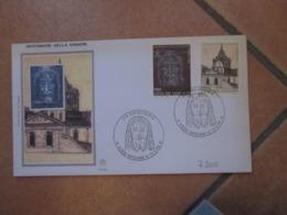 19.5.1998 Ostensione SINDONE Serie Compl.n.2 Valori  Su FDC Annullo Speciale Alto Valore Nominale - Cartas