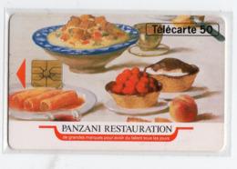 FRANCE EN785 PANZANI RESTAURATION 50U Tirage 3550 Ex - Frankreich
