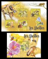CENTRAL AFRICA 2011 - Bees - YT 1936-9 + BF219; CV=29 € - Zentralafrik. Republik