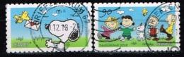 Bund 2018,Michel# 3371 - 3372 O Peanuts Selbstklebend - Gebraucht