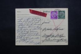 ALLEMAGNE - Entier Postal + Complément De Dessau En 1935 En Exprès - L 44162 - Ganzsachen