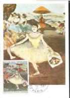 J) 1970 FRANCE, DANCER IN EL SALUDANTE RAMO, PAINTING, POSTCARD - Other