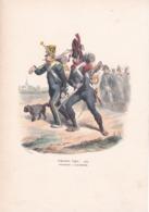 INFANTERIE LEGERE, Voltigeur Carabinier 1809, Par Bellangé ,Gravure 16,5 X 23,5 - Prints & Engravings