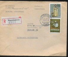 PORTUGAL   Lettre  Recommandée  1962 Religions Bateaux - Christianity