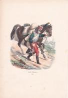 GARDE D'HONNEUR 1814, Par Bellangé ,Gravure 16,5 X 23,5 - Prints & Engravings