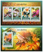 TOGO 2016 - Bees - YT 5374-7 + BF1206; CV=40 € - Togo (1960-...)