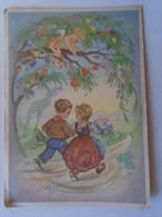 D168577 Artist Signed RAA Charlotte Baron - Little Cupid Angel - Children - Künstlerkarten