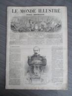 LE MONDE ILLUSTRE1864 / TYPE CAVALIERS MAROCAINS/MADAGASCAR/POLOGNE /ARMEE AUTRICHIENNE/MEXIQUE - Journaux - Quotidiens