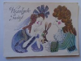 D168579 Artist Signed  Danuta Imielska   -Poland - Künstlerkarten