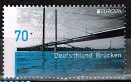 Bund 2018,Michel# 3383 O  Europa (C.E.P.T.) 2018 - Bridges - Gebraucht