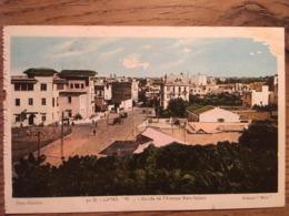 CPA,CASABLANCA Entrée De L'Avenue Mers Sultan, éd FLANDRIN,écrite En 1927 - Casablanca