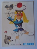 D168580 Artist Signed   Tom Reimer - Helsingor -Denmark - Künstlerkarten