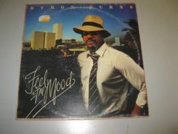 """VINYLE BYRON BURNS """"FEEL ME MOOD"""" 33 T SPLASH / MUSIDISC REF: SPL 70003 - Vinyl Records"""