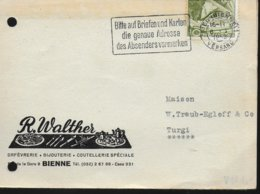 SUISSE Carte 1953 Poste - Correo Postal