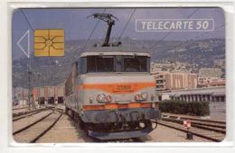 FRANCE EN231 SNCF Cheminots Telecartiste NICE 11/91 50U Tirage 4150 Ex - Frankreich