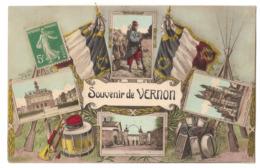 27 409 - Souvenir De VERNON - Militaria - Vernon