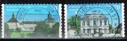 Bund 2018,Michel# 3388 - 3389 O Burgen Und Schlösser: Friedenstein/ Falkenlust - Gebraucht