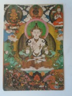 D168584 Manivimala , Silk Applique , 18th Century , Mongolia - Buddhism - Bouddhisme